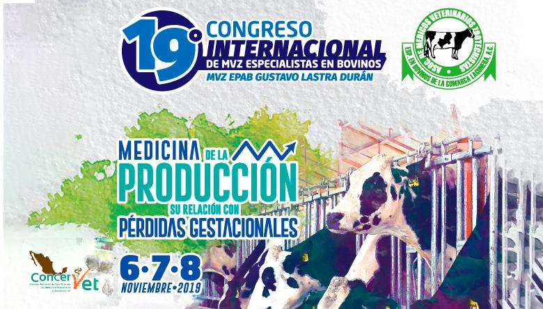 19º Congreso Internacional de MVZ Especialistas en Bovinos 2019