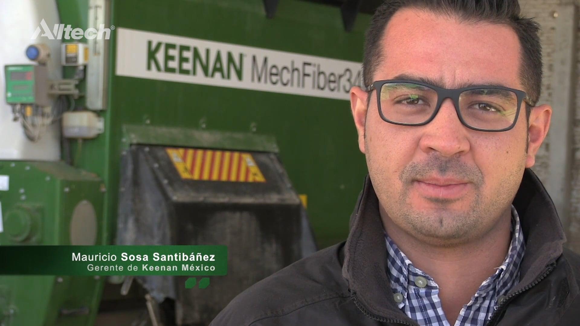 Keenan; rentabilidad y eficiencia: Cápsulas Nutricionales Alltech