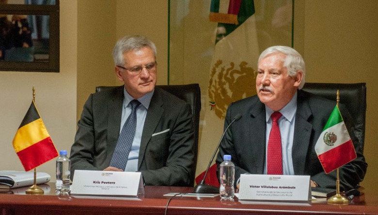 México y Bélgica fortalecerán su intercambio comercial agropecuario
