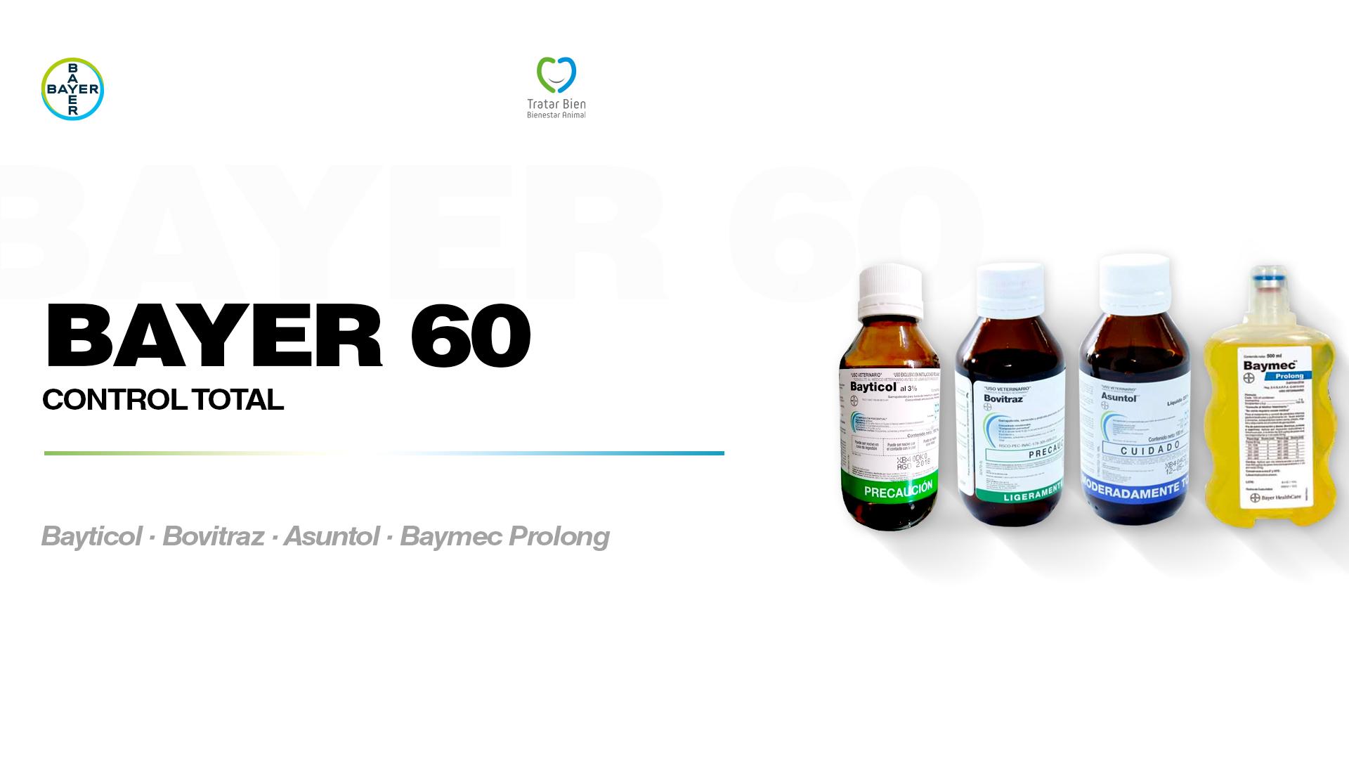 Bayer 60 Control Total: Garrapatas
