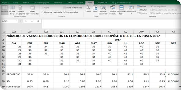Manejo de registros para bovinos en el sistema de producción de ...